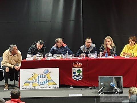 """Orden de actuación Concurso de Agrupaciones Carnaval de Isla Cristina 2019"""""""