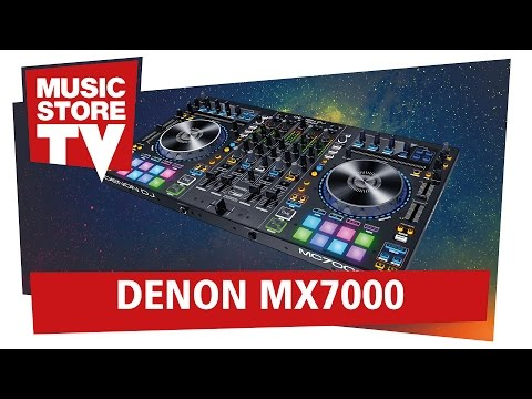 DENON DJ MC7000 Serato DJ Controller Test + Demo (deutsch)
