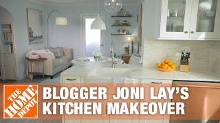 Blogger Joni Lay's Kitchen Makeover | The Home Depot