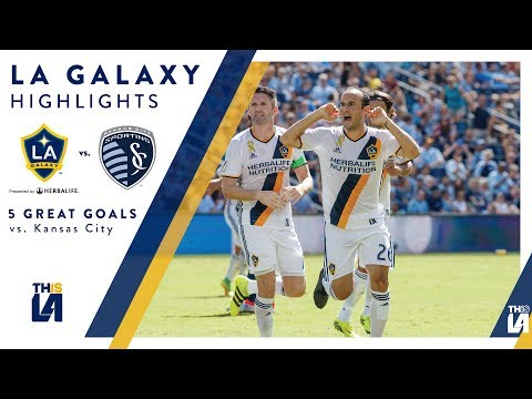 Video: Five Great Goals: LA Galaxy vs. Sporting Kansas City