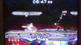[2006] Isai (Fox) Wavedash OOS into a shine grab