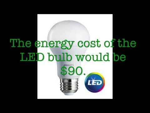 Energy Saving Lightbulbs!
