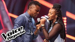 Tobore vs Jennifer sing 'Awww' / The Voice Nigeria 2016