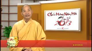 LỜI CHÚC ĐẦU NĂM - TẾT QUÝ TỴ 2013 - PHẦN 2 - VIETODAY TV