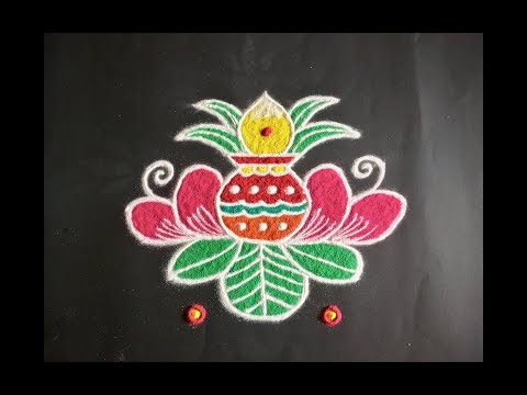 Search results for overwhelming lotus flower art newest mp3 music simple lotus flower rangoli design with beautiful colours dots 7x4 for varamahalakshmi festival mightylinksfo