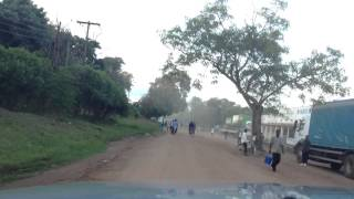 This is a drive through the town of Balaka.