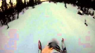 6. Ski-Doo Renegade X Etec 800 Ripping Iron Dog Trail, Hauling Tail and Breaking Trail