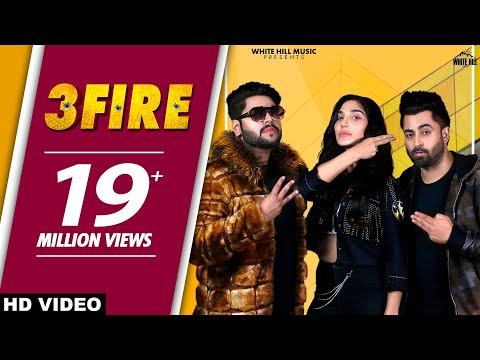 3 FIRE : Sharry Mann (Official Video) Feat MistaBaaz | Swaalina | New Punjabi Songs 2019 | Teen Fire