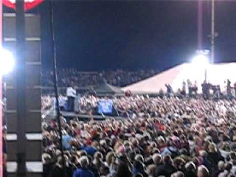 Obama Rally in Springfield, MO