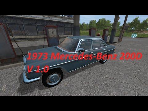 1973 Mercedes Benz 200D v1.0