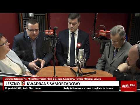 Wideo1: Leszno Kwadrans Samorządowy 27 grudnia 2017
