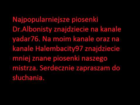 Tekst piosenki Doktor Albonista - Przeboje disco po polsku
