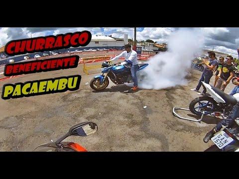 Galera chengando no encontro de motos derrubando tudo!!! ( Churrasco Beneficiente Pacaembu)