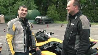 10. BRP Can-Am Spyder Roadster Review & Test Ride (Part 2 of 3) - Two Wheels 2 Anywhere (Episode2)