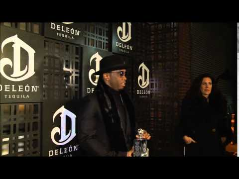 Diddy talks Deleon Tequila at the official launch