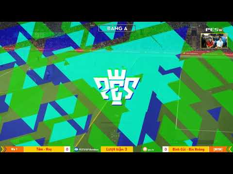 PES League 2v2 | [WE1] Tâm Barca + Ken Nguyễn vs [MYM] Bình Củi + Hoàng Bin 23-12-2017