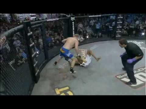Alexander Shlemenko vs Bryan Baker at Bellator 23 June 24 2010