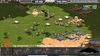 Hà Nội vs Thái Bình + No1 C1T3, Ngày 29/07/2015, game đế chế, clip aoe, chim sẻ đi nắng, aoe 2015