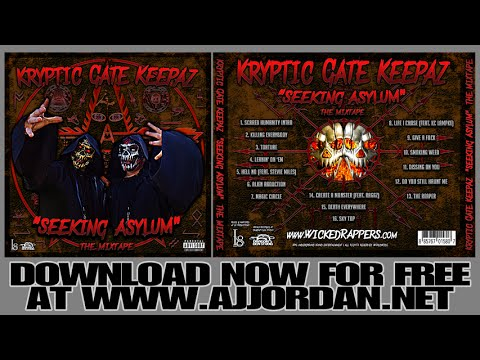 KRYPTIC GATE KEEPAZ (AJ Jordan & Spyder) Seeking Asylum Mixtape [FREE DOWNLOAD]