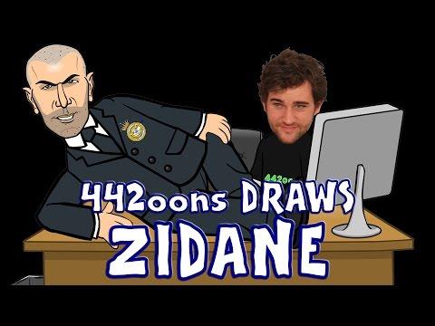442oons draws ZIDANE!