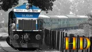 Garhmukteshwar India  city photos : IRFCA - Avadh Assam Express Negotiating Grand Curve Before Entering Garhmukteshwar Railroad Bridge