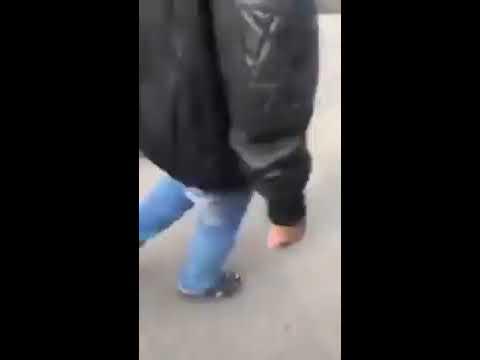 شاهد بالفيديو مقتل ارهابي حلوان قبل تفجير نفسه