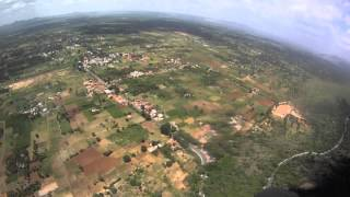 Yelagiri India  city photo : Paragliding Yelagiri,Tamil Nadu, India