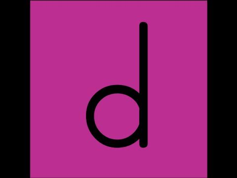 Letter D Song Video