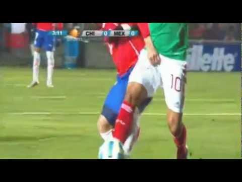Tremendo  Agarron D PENE a Giovani Dos Santos INCREIBLE  Eua vs Mexico  2-0  Eliminatorias concacaf