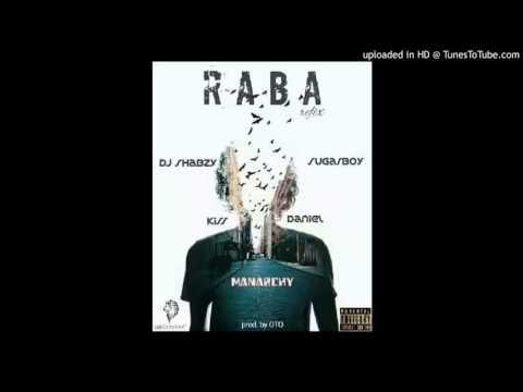 Dj Shabzy Ft Kiss Daniel x Sugarboy x Manarchy - Raba refix