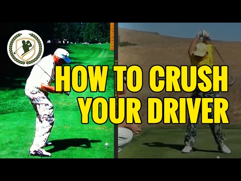 How To Crush Your Driver Golf Swing