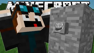 Minecraft  THE TROLL BUTTON!!  Come Find Me Custom Map ▻ Subscribe and join TeamTDM! :: http://bit.ly/TxtGm8...