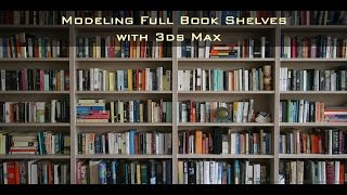 In this video we will see how we can generate a randomized look for our book cases inside 3ds MaxOriginal Post at: http://www.dkcgi.net/2016/10/05/modeling-books-shelves-in-3ds-max/