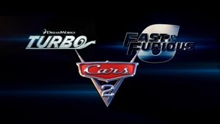'Turbo' - 'Fast&Furious 6' - 'Cars 2' Mashup