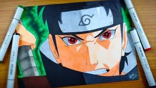 Video Shisui Uchiha Drawing using COPIC - Naruto Shippuden MP3, 3GP, MP4, WEBM, AVI, FLV Februari 2019