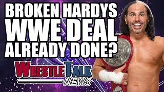 Another WWE Wrestler Released, Broken Hardys WWE Deal Done? | WrestleTalk News April 2017