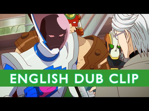 TIGER & BUNNY Official English Dub Clip- A Message from the Boss - On DVD/BD 2-24-15