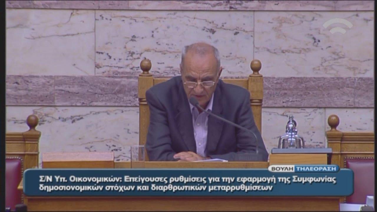 Με 152 «ναι» ψηφίστηκε το πολυνομοσχέδιο με τα προαπαιτούμενα διαρθρωτικά μέτρα