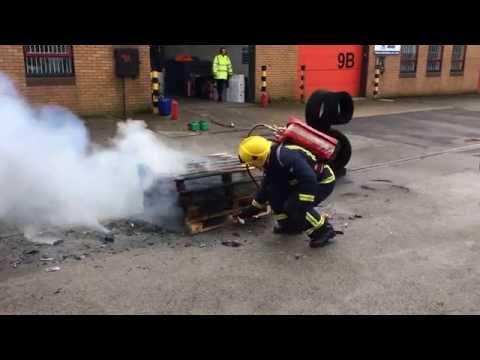 BacPac FB33 extinguishing 4 pallets
