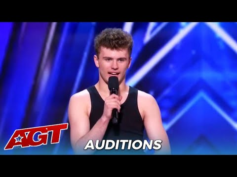 Lewis Shilvock: Australian Solo Dancer With INCREDIBLE Moves On @America's Got Talent