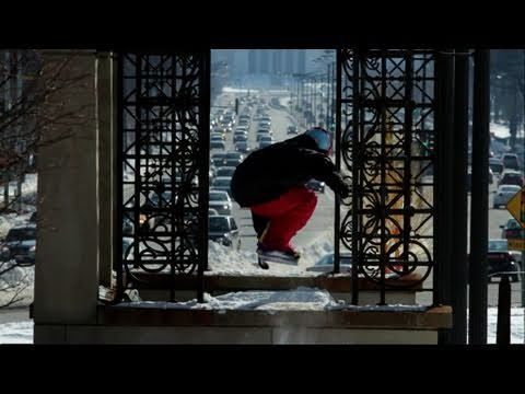 Urban snowboarding with a winch – Episode 7 – Red Bull Winch Sessions