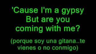 gypsy - shakira ** with lyrics** English and spanish too