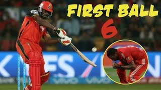 Video Top 10 Fearless First Ball Sixes in Cricket History ★ Must Watch ★ MP3, 3GP, MP4, WEBM, AVI, FLV Oktober 2018