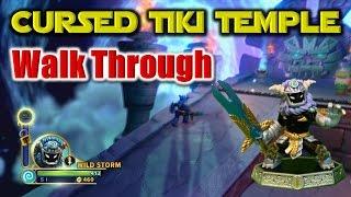 Skylanders Imaginators - Cursed Tiki Temple Level WALKTHROUGH In the last video, I put Master Wild Storm and the Plantinum Imaginite Mystery Chest on the Por...