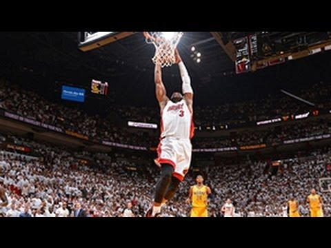 Dwayne Wade Coast-to-Coast Dunk