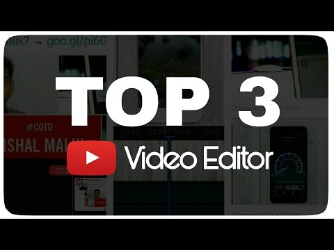 Best Video Editing Apps for YouTube / How To Edit YouTube Video / Top 3 By Vishal Malik