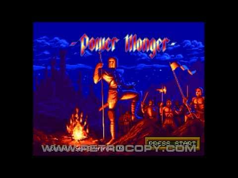 PowerMonger Megadrive