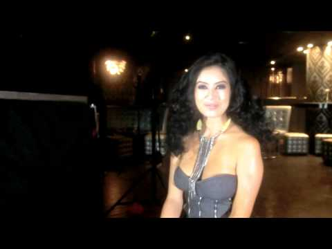 Behind the scenes: Kim Lee shoot the Cover of FHM Philippines Jan 2012 issue