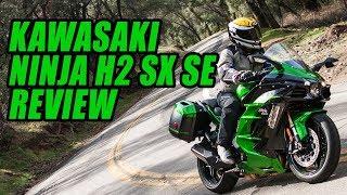 1. 2018 Kawasaki Ninja H2 SX SE Review