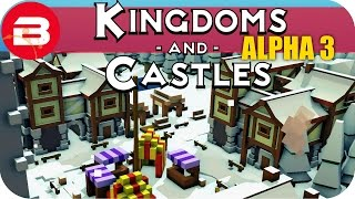 Kingdoms and Castles Gameplay: NEW MANOR HOUSE & CHARCOAL #19 - Lets Play Kingdoms & Castle Alpha